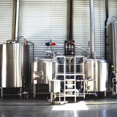 500L Micro Turnkey Craft Beer Brewing Equipment til salgs