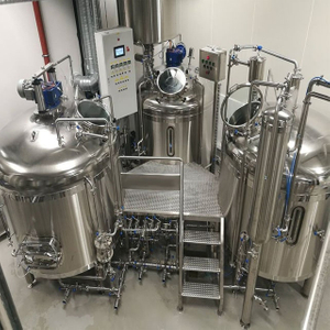 500L Micro Beer Equipment Superior Quality Craft Beer Machine Nøkkelferdige Bryggeriprodusent
