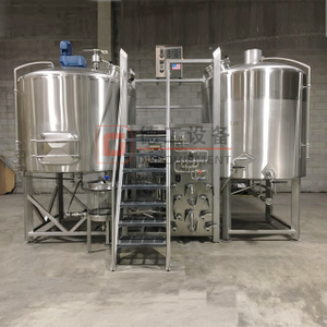 10BBL Steam Heat Three Vessels Beer Brewhosue Commercial Brukt Komplett Bryggeriutstyr