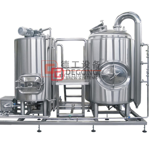 500L Micro Commercial Craft Beer Brewhouse Equipment til salgs